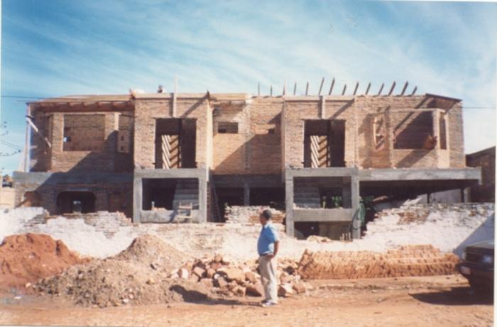 Maisons PINCHI - HORNA : Avant la pose de toiture