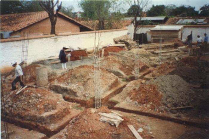 Villa CHAVEZ : Fondations, étape difficile sur l'execution.