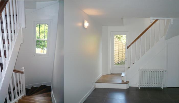 Restructuration et surélévation d'une maison de ville : 2-12-2010-CALLA- entrée.jpg