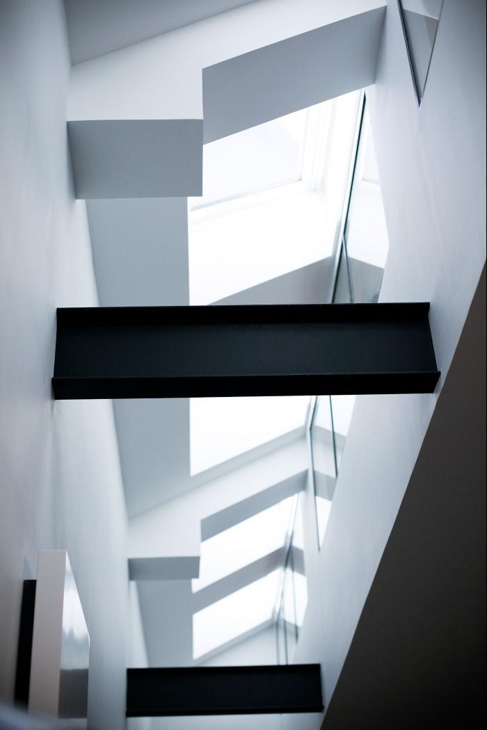 Loft à Ivry : Vue atrium