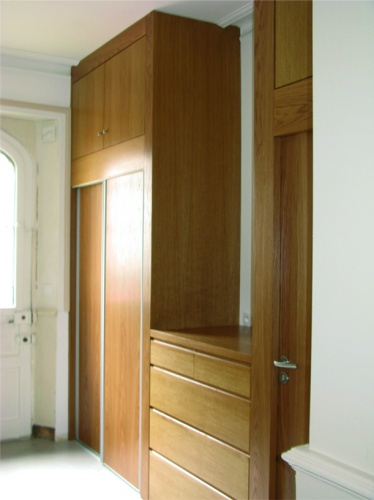 Réhabilitation d'une maison individuelle : Entrée aprés