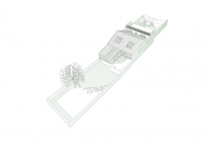 Loft avec Piscine Intérieur : pers 1