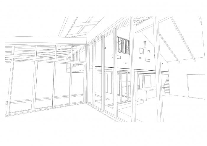 Loft avec Piscine Intérieur : pers 3