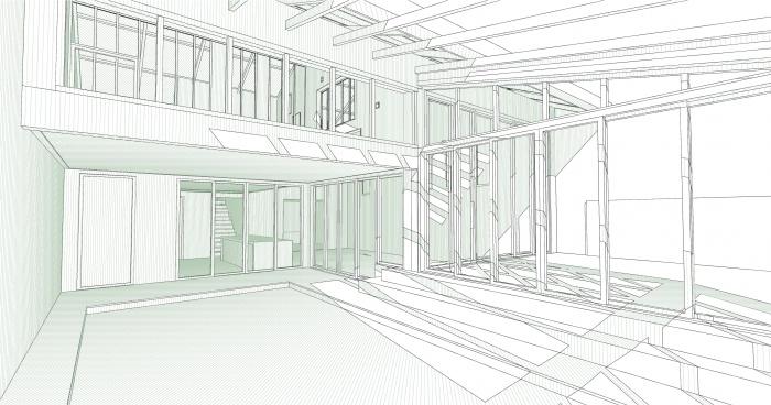 Loft avec Piscine Intérieur : pers 5