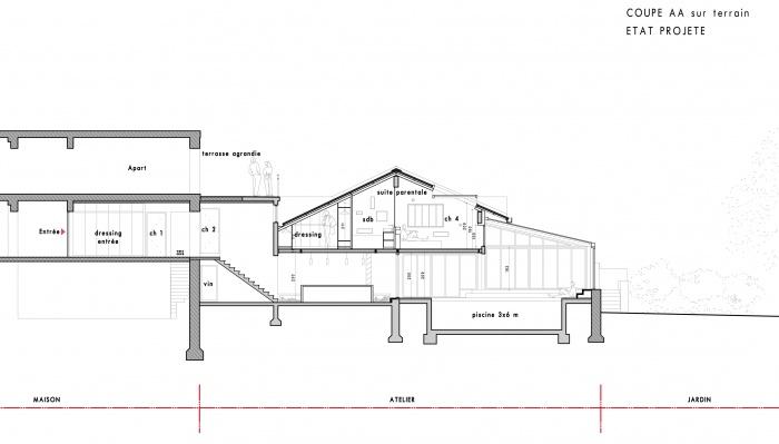 Loft avec Piscine Intérieur : cpe2 V2