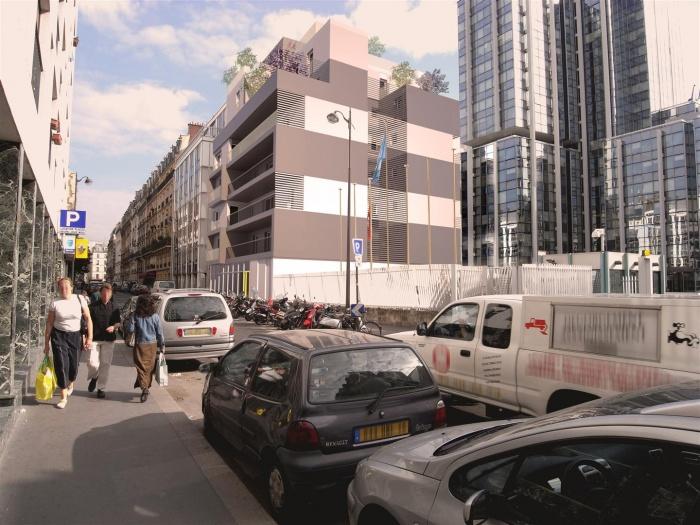 Collectif 20 logements BBC : montage 2
