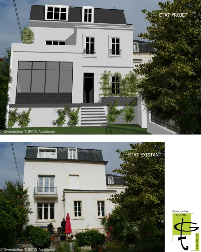 Extension et surélévation d'une maison individuelle : image_projet_mini_56509
