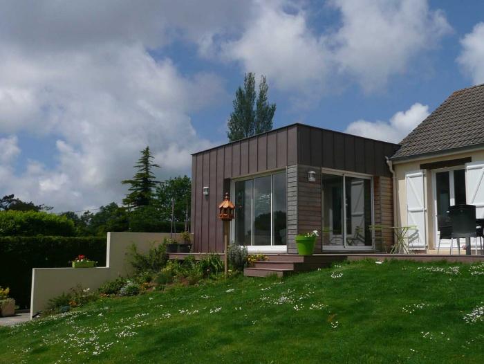 extension d 39 une habitation angoville sur ay une r alisation de francois hamet. Black Bedroom Furniture Sets. Home Design Ideas
