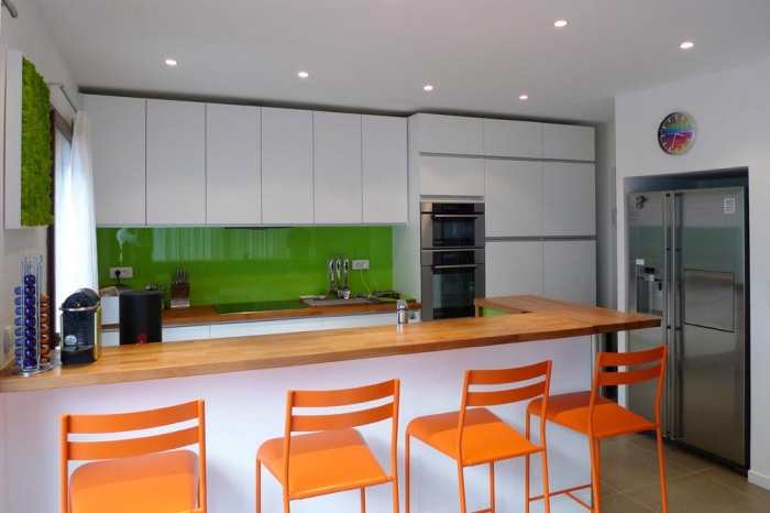 Maison sur le Pont (94) : La cuisine