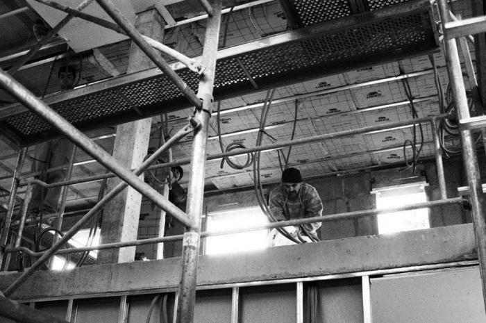 Maison sur le Pont (94) : Chantier : second oeuvre