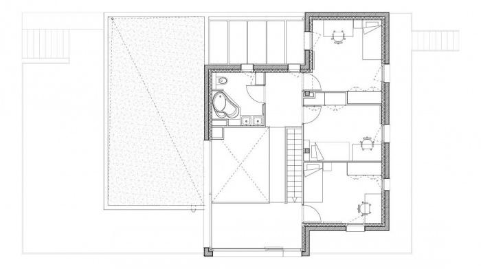 Maison sur le Pont (94) : Plan R+1