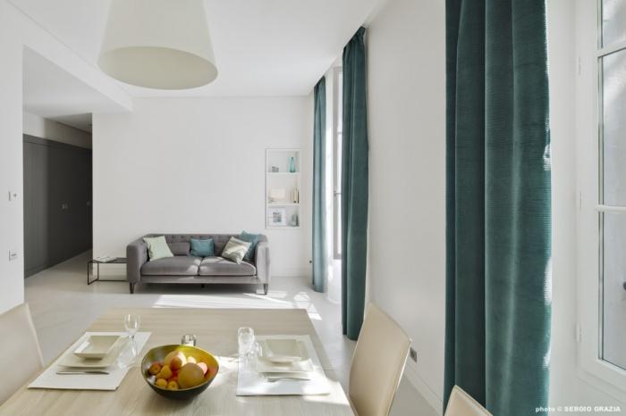 Appartement contemporain à Saint Germain des Prés