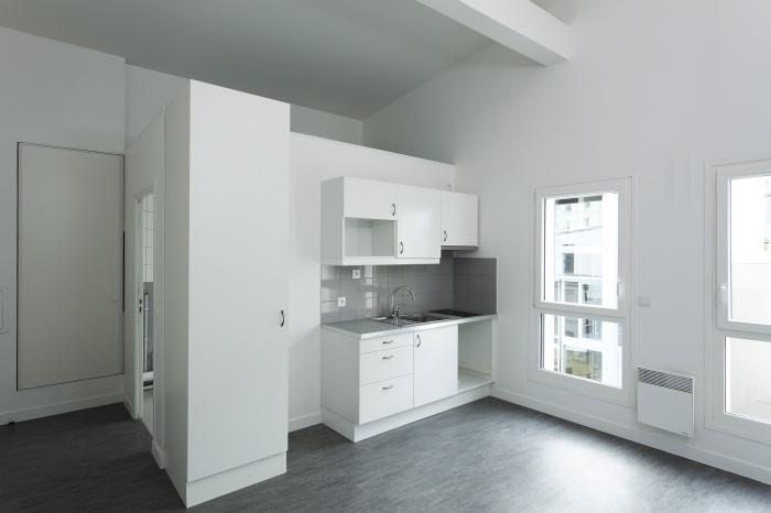 Restructuration et surélévation d'un immeuble de logements, Paris XXe : Gambetta_078 site.jpg