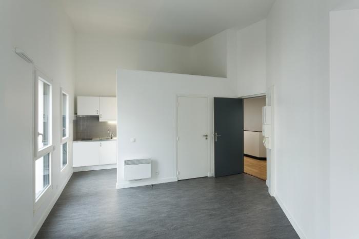Restructuration et surélévation d'un immeuble de logements, Paris XXe : Gambetta_095 site.jpg