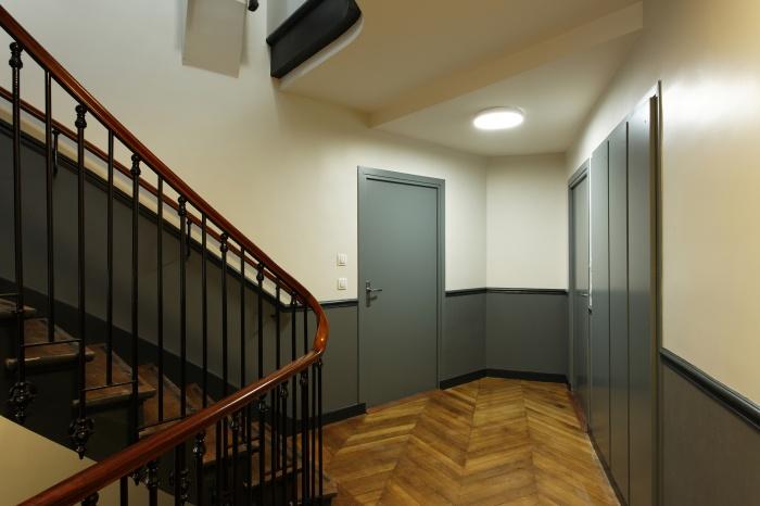 Restructuration et surélévation d'un immeuble de logements, Paris XXe : Gambetta_110D site.jpg