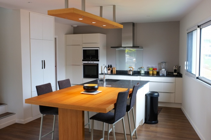 Maison individuelle : cuisine
