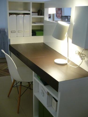 Chambre / bureau contemporains dans appartement classique : image_projet_7563.jpg