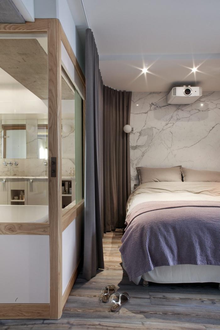 Loft LK : Bain-Chambre