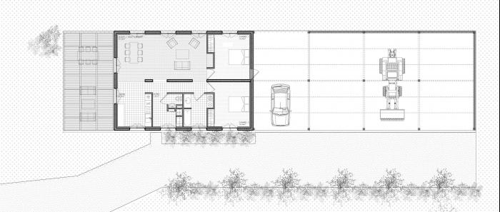 Maison C_hangar agricole : maison_C-(0)