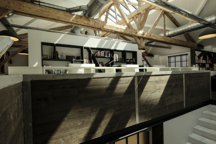 Aménagent du nouveau siège social d'une agence de Design Global : open space 2