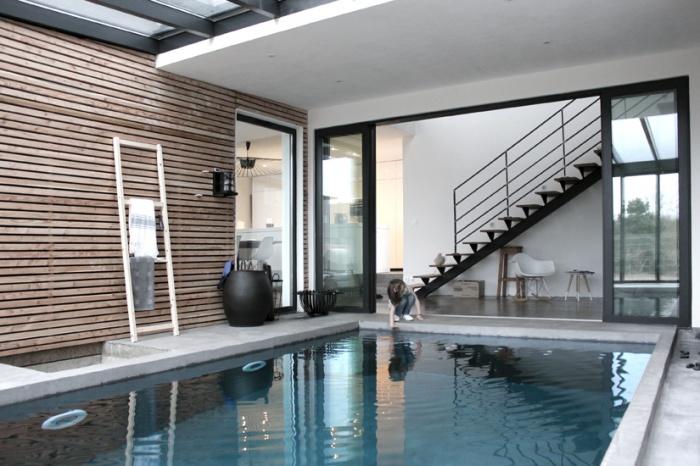 Maison ossature bois : Maison architecte chessy piscine.jpg