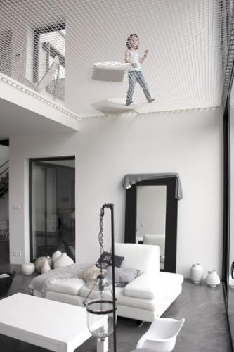 Maison ossature bois : Maison architecte chessy double hauteur.jpg