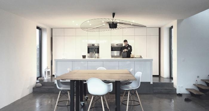 Maison ossature bois : Maison architecte chessy cuisine.jpg