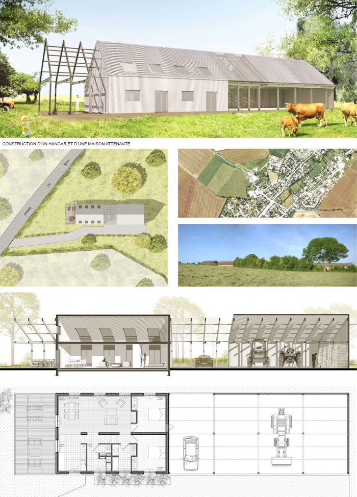 Maison C_hangar agricole : dccp-architecte_hangar-agricol