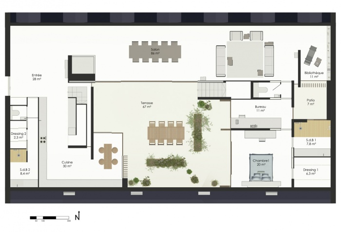 E 26 - Un Penthouse Parisien : E26-p2 (6).jpg