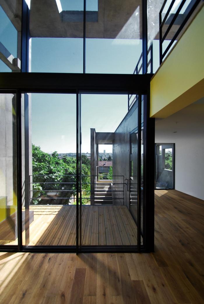 Création d'une maison et atelier d'artiste - Rosny-sous-Bois : 03