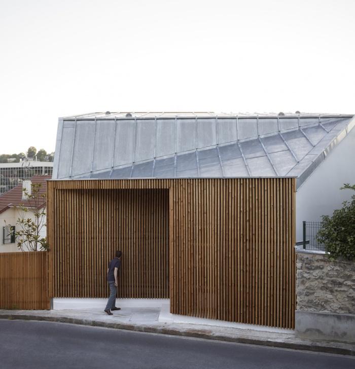 Extension en bois et restructuration d'une maison : 5