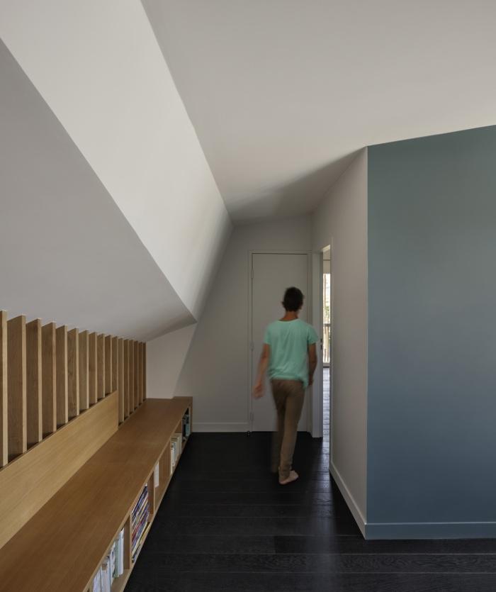 Extension en bois et restructuration d'une maison : 9