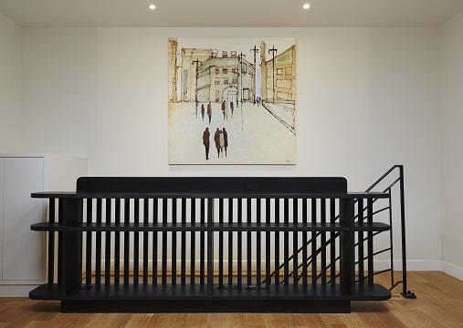 Appartement Avenue de Ségur : meuble garde corps