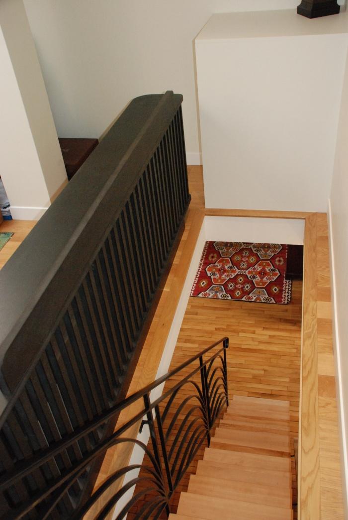 Appartement Avenue de Ségur : escalier