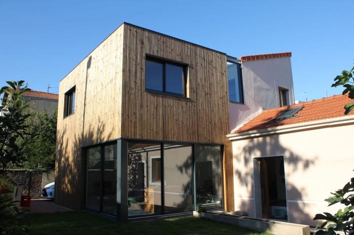 Rénovation et extension de maison, construction à ossature bois : image_projet_mini_94404