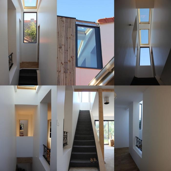 Rénovation et extension de maison, construction à ossature bois : 06_montage interieur.jpg